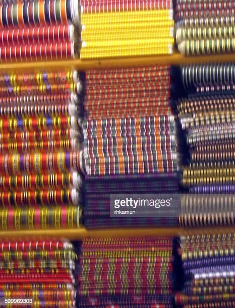 Fabric in market, Istanbul, Turkey