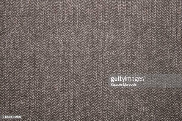 fabric texture background - herringbone - fotografias e filmes do acervo