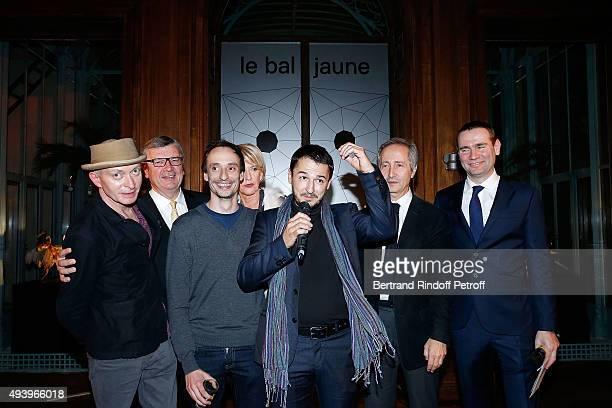 Fabrice Bousteau Philippe Savinel winner Florient Pugnaire Colette Barbier Winner David Raffini Bernard Blistene and Alexandre Ricard attend 'Le Bal...