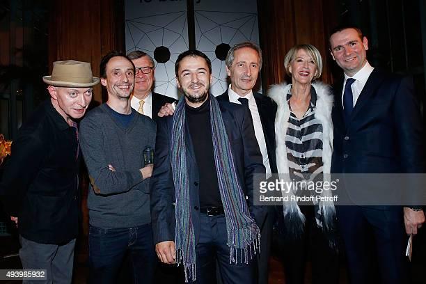 Fabrice Bousteau winner Florient Pugnaire Philippe Savinel Winner David Raffini Bernard Blistene Colette Barbier and Alexandre Ricard attend 'Le Bal...