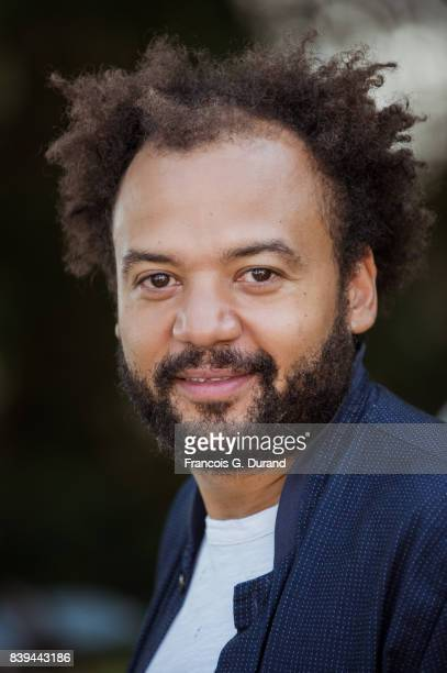 Fabrice Eboue attends the 10th Angouleme FrenchSpeaking Film Festival on August 26 2017 in Angouleme France