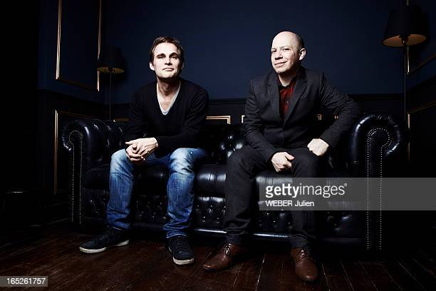 Fabrice Gobert , the film director of the serie Les Revenants and Stuart Braithwaite the leader of the band Mogwai who composed the music for the...
