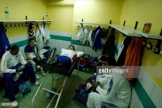 Fabrice JEANNET / Virgile MARCHAL / Eric BOISSE / Yannick BOREL Challenge Monal 2009 Coupe du Monde d Epee Stade Pierre de Coubertin Paris