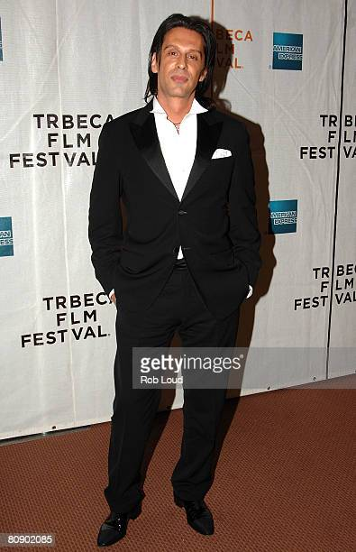 Fabrice Kehrhbeg attends the premiere of 'Toby Dammit' during the 2008 Tribeca Film Festival on April 28 2008 in New York City