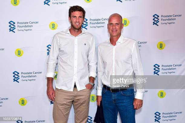 Fabrice Martin and Cyril Saulnier attend the 14th Annual Prostate Cancer Foundation's Gala In The Hamptons With A Special Performance By John Fogerty...