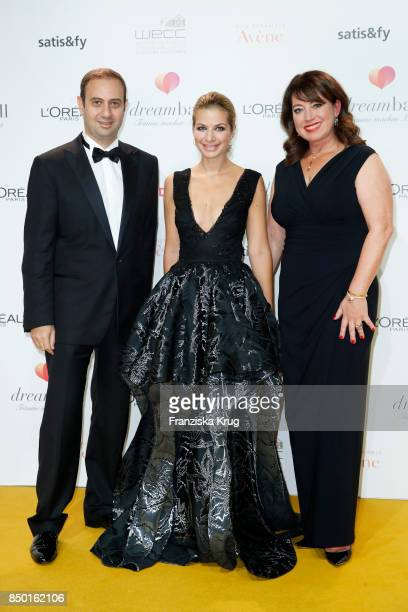 Fabrice Megarbane Susan Sideropoulos and Ruth Neri attend the Dreamball 2017 at Westhafen Event Convention Center on September 20 2017 in Berlin...