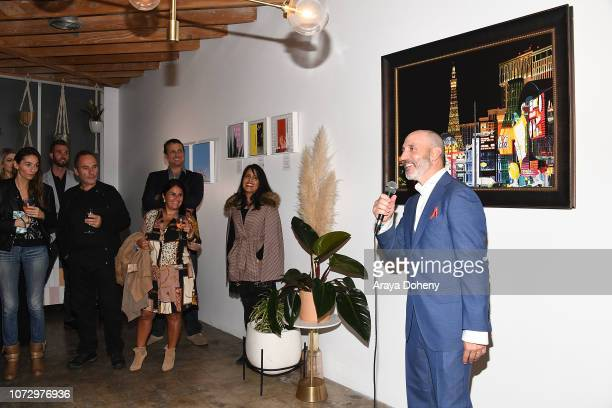 Fabrice Spies attends the URBAN2020 Fabrice Spies Benefiting STOP Trafficking of People on December 13 2018 in Los Angeles California
