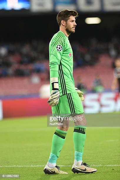Fabricio Agosto Ramirez of Besiktas during the UEFA Champions League match between SSC Napoli and Besiktas at Stadio San Paolo Naples Italy on 19...