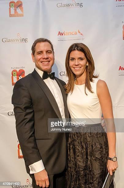 Fabricio Altamirano and Camila Altamirano attend the 2015 Glasswing International Benefit Gala at Tribeca Three Sixty on April 23 in New York City