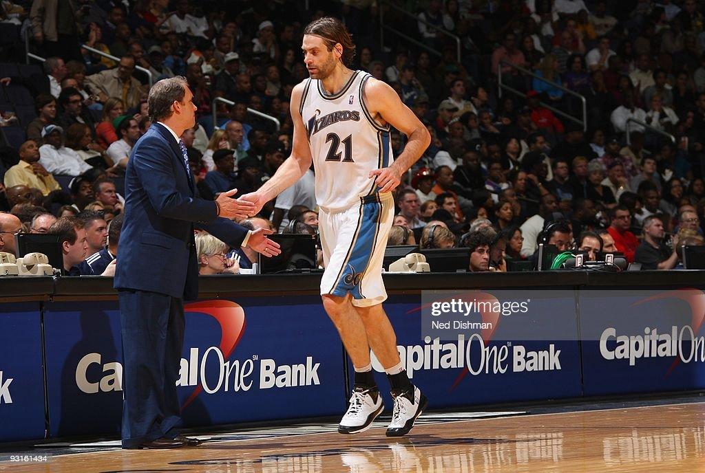 New Jersey Nets v Washington Wizards