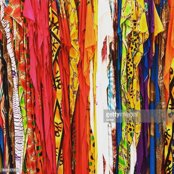 fabrics - mombasa stock photos and pictures