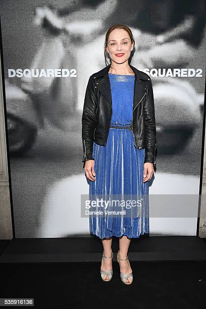 Fabrizia Sacchi attends Dsquared2 instore cocktail on May 30 2016 in Rome Italy