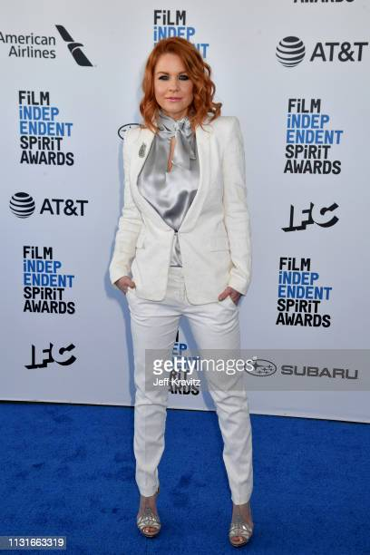 Fabrizia Sacchi attends the 2019 Film Independent Spirit Awards on February 23 2019 in Santa Monica California