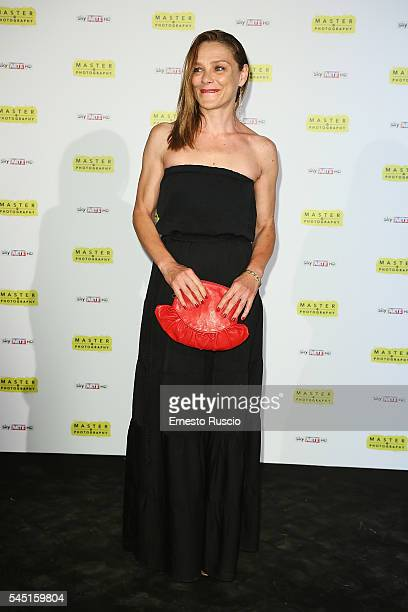 Fabrizia Sacchi attends the 'Master Of Photography' photocall at Villa Medici on July 5 2016 in Rome Italy