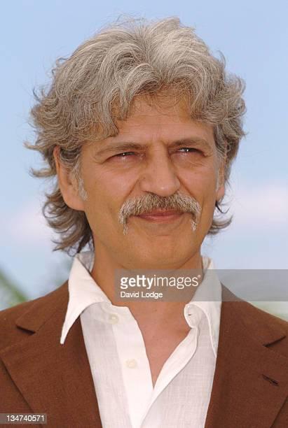 """Fabrizio Bentivoglio during 2006 Cannes Film Festival - """"L'Amico di Famiglia"""" Photocall at Palais des Festival Terrace in Cannes, France."""