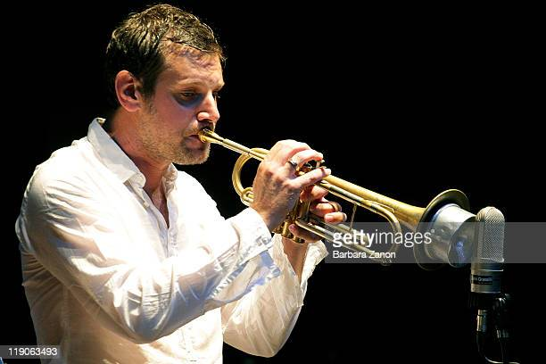 Fabrizio Bosso performs on stage at Teatro Pavone during Umbria Jazz Festival on July 14 2011 in Perugia Italy