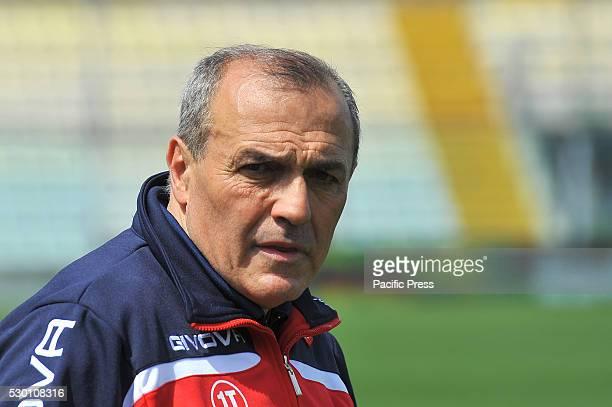 Fabrizio Castori Carpi's head coach during the Serie A football match between FC Carpi and SS Lazio at Braglia Stadium in Modena Lazio beat by 3 to 1...