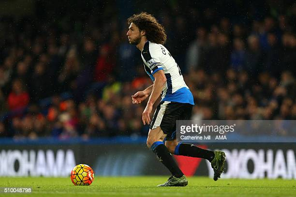 Fabrizio Coloccini of Newcastle United during the Barclays Premier League match between Chelsea and Newcastle United at Stamford Bridge on February...