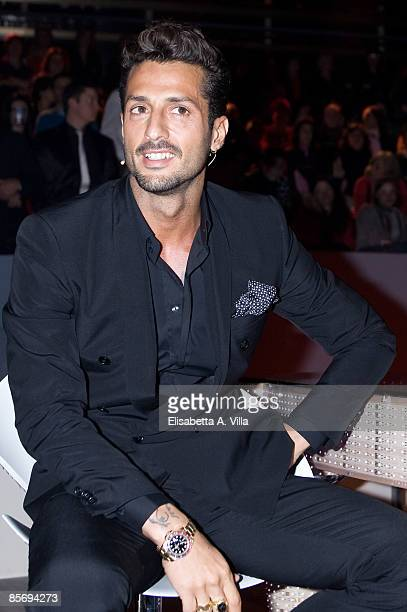 Fabrizio Corona appears on the Italian TV show 'La Fattoria' on March 29, 2009 in Rome, Italy.