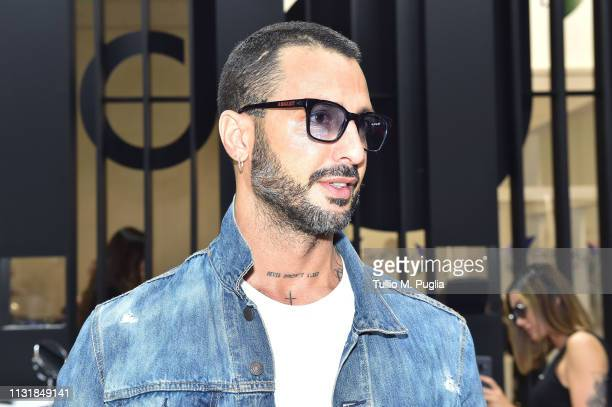 Fabrizio Corona attends MIDO 2019– Milano Eyewear Show on February 24, 2019 in Milan, Italy.