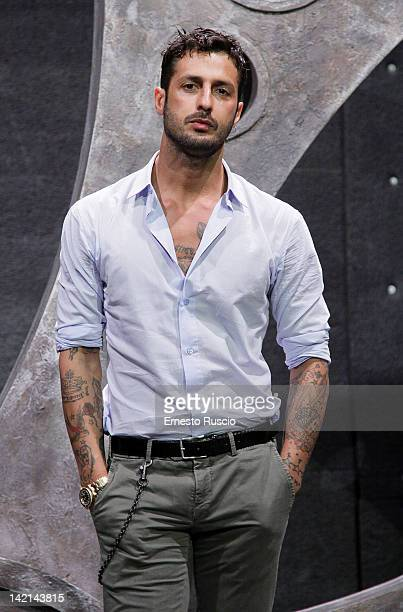 Fabrizio Corona attends the 'Liberta di Parola' press conference at Ex Studios De Paolis on March 30, 2012 in Rome, Italy.
