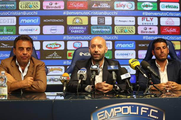 ITA: Empoli New Head Coach Cristian Bucchi Press Confernce