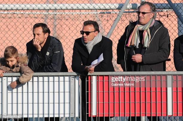 Fabrizio Corsi president of Empoli FC looks on during the Serie A Primavera between Empoli FC and Citta' di Palermo on January 12 2019 in Empoli Italy