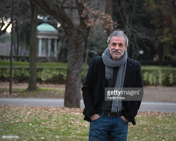 Fabrizio Ferracane attends a photocall for Ho amici in paradiso