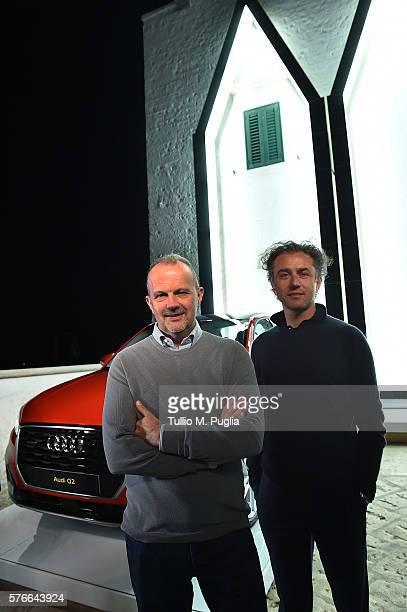 Fabrizio il'Longo and Felice Limosani attend Locus Festival 2016 on July 16 2016 in Locorotondo near Bari Italy