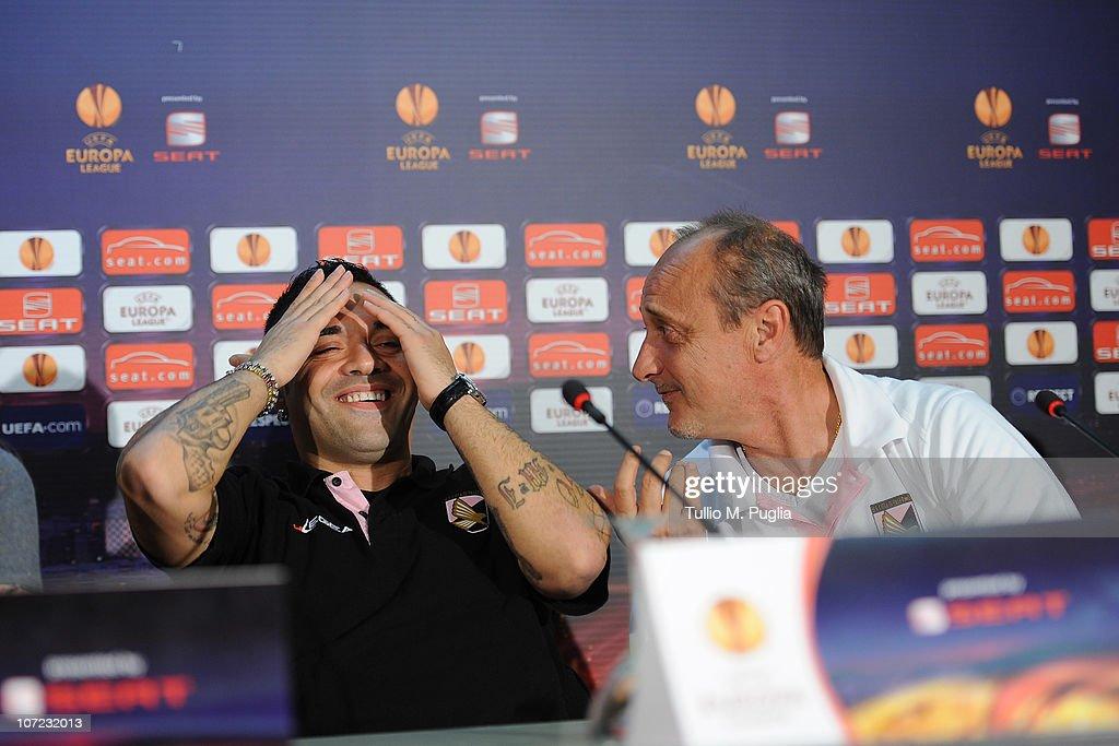 US Citta di Palermo Press Conference : News Photo