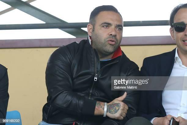 Fabrizio Miccoli during the SuperCoppa primavera 2 match between Novara U19 and US Citta di Palermo U19 at Centro Tecnico Federale di Coverciano on...