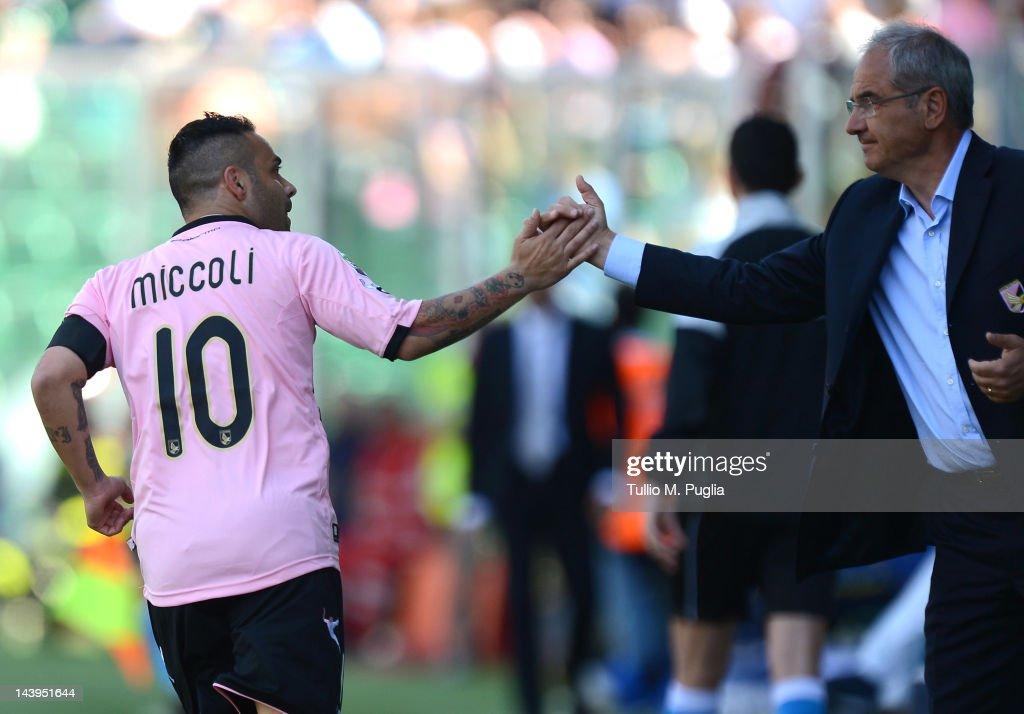US Citta di Palermo v AC Chievo Verona  - Serie A : ニュース写真