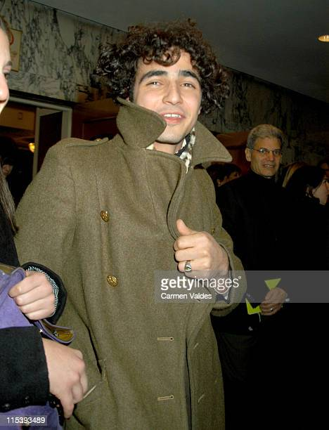 Fabrizio Moretti of The Strokes during A Special Gala Performance of Puccini's 'La Boheme' to Benefit The Robin Hood Foundation Departures at...