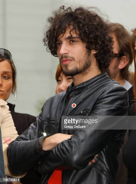 Fabrizio Moretti of The Strokes during Drew Barrymore Honored with a Star on the Hollywood Walk of Fame for Her Achievements in Film at Hollywood...