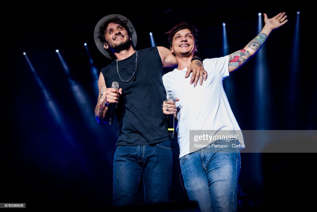 Fabrizio Moro Performs In Rome