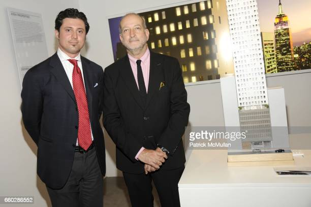 Fabrizio Uberti Bona and Enrique Norten attend Preview Cocktail Party for the Launch of CASSA Designed by ENRIQUE NORTEN at CASSA Showroom on June 8,...