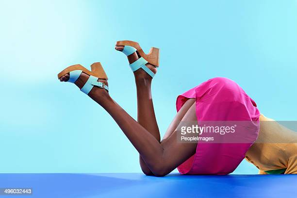 fabulous footwear - high heels short skirts stock pictures, royalty-free photos & images