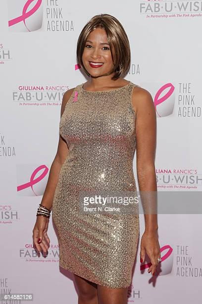 FabUWish award recipient Larissa Podermanski attends The Pink Agenda's 2016 Gala held at Three Sixty on October 13 2016 in New York City