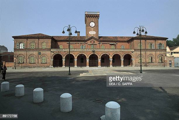 Facade of a building, Former Military Arsenal, Turin, piedmont, Italy