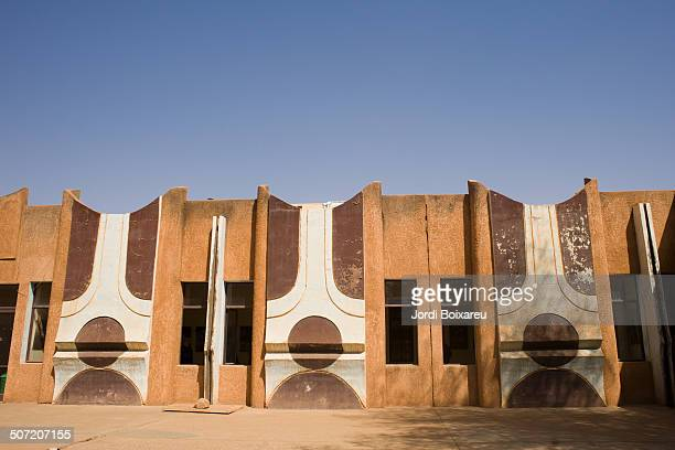 Facade of a building in Africa