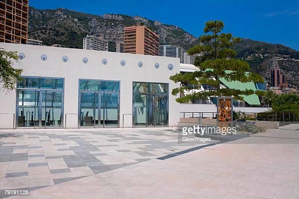 facade of a building, monte carlo, monaco - モナコ ストックフォトと画像