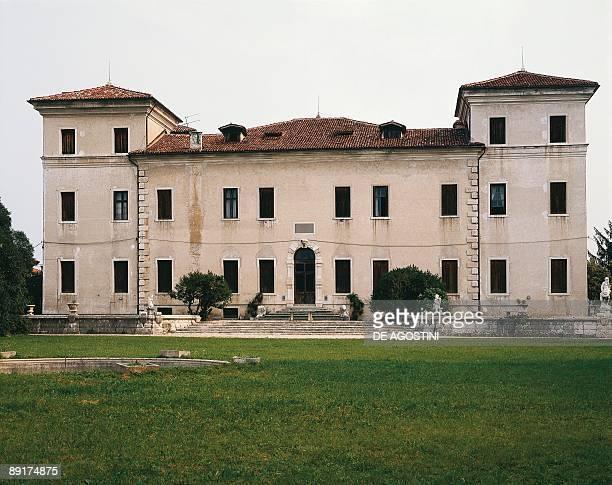 Facade of a building, Villa Rezzonico, Bassano Del Grappa, Veneto, Italy