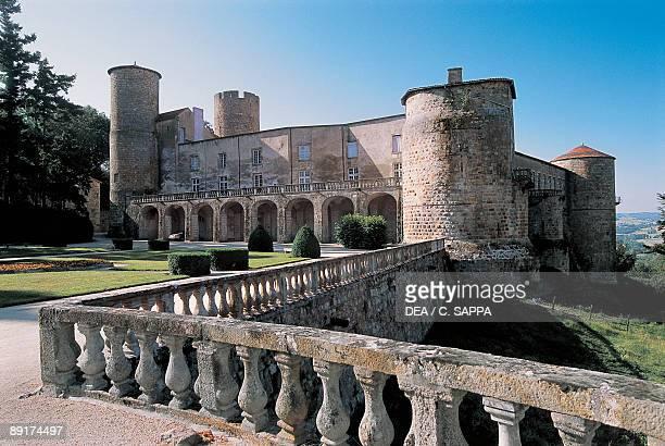 Facade of a castle Ravel Castle Auvergne France