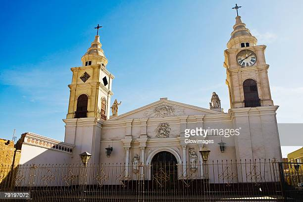Facade of a church, Ica, Ica Region, Peru