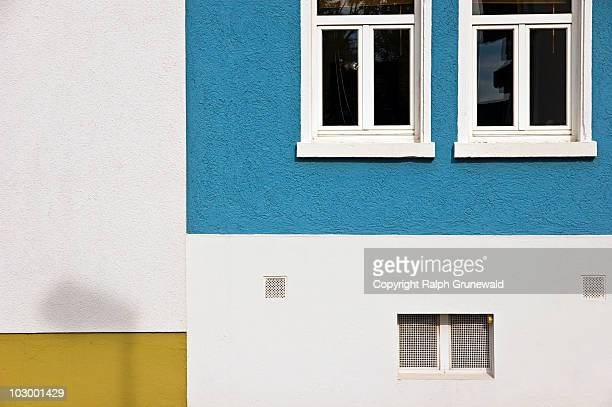 Facade of a German home