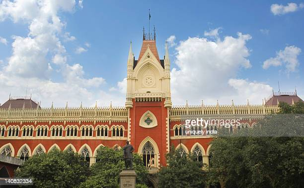 Facade of a high court building, Calcutta High Court, Kolkata, West Bengal, India