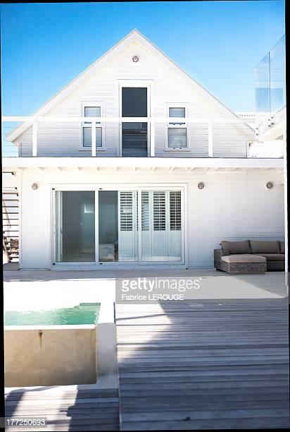 Facade of a house