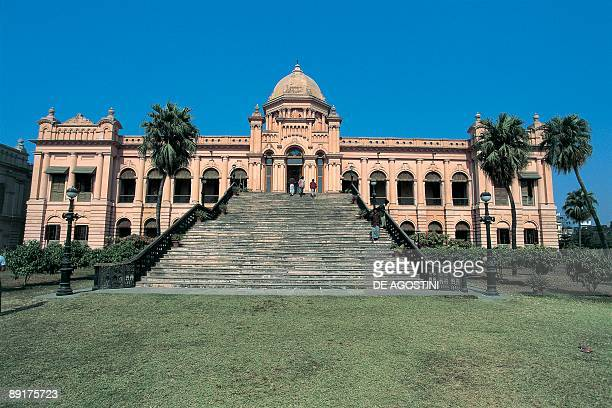 Facade of a museum Ahsan Manzil Dhaka Bangladesh
