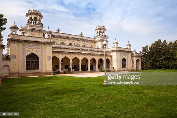 Facade of a Palace Chowmahalla Palace Hyderabad Andhra Pradesh India