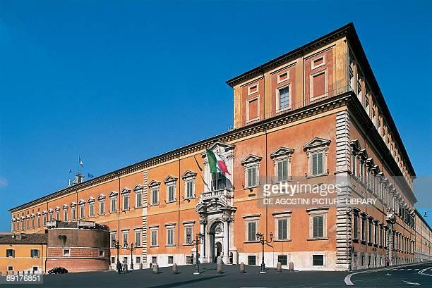 Facade of a palace Quirinal Palace Rome Lazio Italy